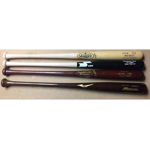 Louisville Slugger Wood Bat Pack 34 inch (4 Bats)