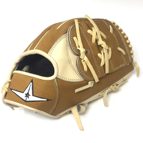 All-Star Pro Elite 12 Inch Baseball Glove FGAS-12002P Cream Saddle Tan Right Hand Throw