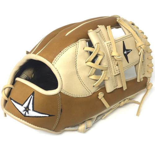 All-Star Pro Elite 11.5 I Web Baseball Glove Right Hand Throw Cream Saddle Tan