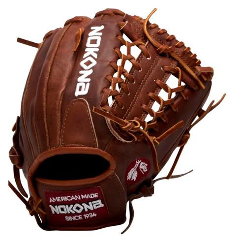Nokona Walnut 11.5 Baseball Glove Mod Trap Web Right Hand Throw