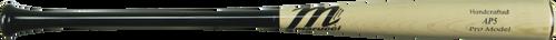 Marucci AP5 Maple Pro Wood Baseball Bat 33 inch Black Natural