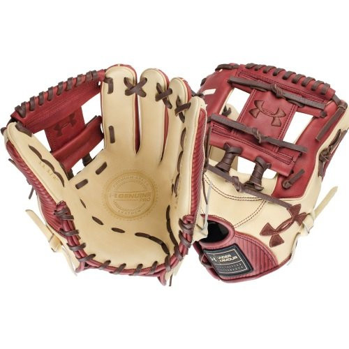 Under Armour Genuine Pro 11.5 I-Web Baseball Cherry Glove Right Hand Throw