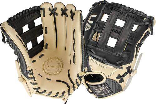Under Armour Genuine Pro 12.75 H-Web Baseball Glove Black Right Hand Throw
