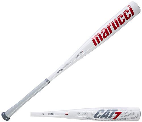 Marucci MCBC7 Cat7 -3 BBCOR Baseball Bat 33 inch 30 oz