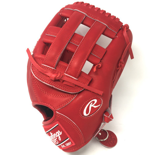 Rawlings Heart of Hide PRO3039 Baseball Glove Red H Web 12.75 Right Hand Throw