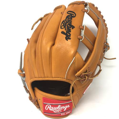 Rawlings Heart of the Hide PRO-TT2 Tan Single Post Baseball Glove 11.5 Right Hand Throw