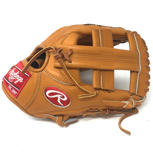 Rawlings Heart of the Hide PRO-TT2 Tan Single Post Baseball Glove 11.5 Right Hand Throw