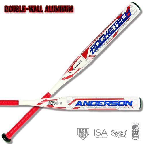 Anderson Rocketech -9 Double-Wall Fastpitch Softball Bat 31 inch 22 oz