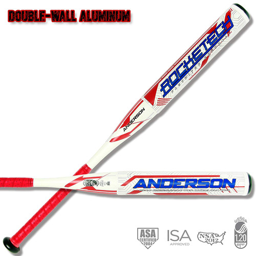 Anderson Rocketech -9 Double-Wall Fastpitch Softball Bat 33 inch 24 oz