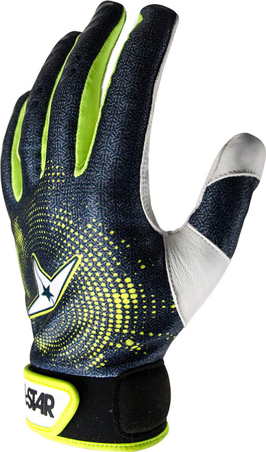 All-Star Adult Full Palm Baseball Catchers Inner Protective Glove Adult Large