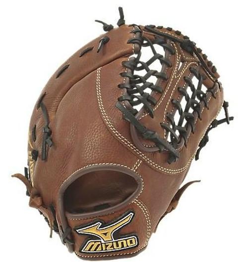 Mizuno GXF57 MVP Baseball First Base Mitt (Copper, 13.00-Inch) (Left Handed Throw)