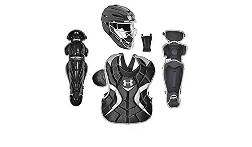 Under Armour Youth PTH Victory Catchers Set Black Age 9 to 12
