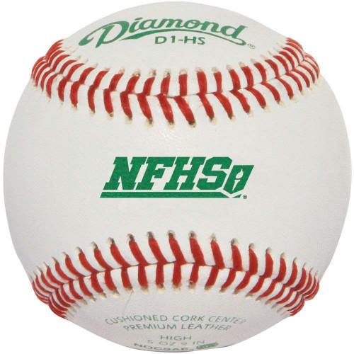 Diamond D1-HS Baseballgs 1 Doz NFHS