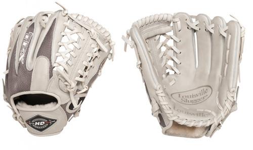 Louisville Slugger Hybrid Defense Grey Baseball Glove 11.5 Right Hand Throw