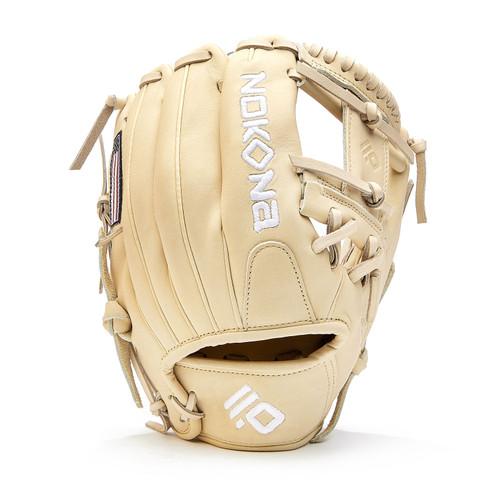 Nokona Blonde AmericanKip Baseball Glove 11.5 Right Hand Throw