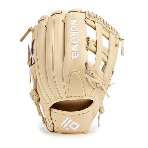 Nokona Blonde AmericanKip Baseball Glove 12.75 Right Hand Throw