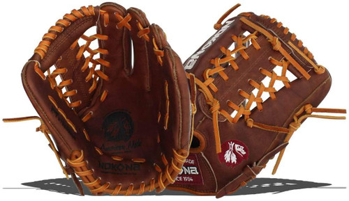 Nokona Walnut Modified Trap 11.25 Baseball Glove Right Hand Throw