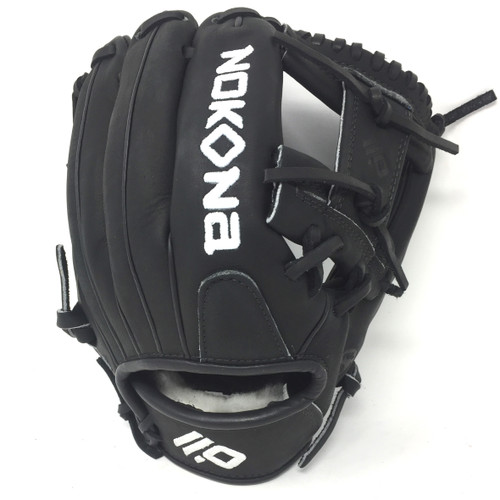 Nokona XFT Baseball Glove 11.5 OX Black Right Hand Throw
