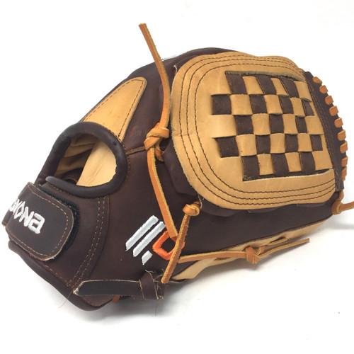 Nokona Alpha Tan Supersoft AmericanKip FastPitch Softball Glove 12.5 Right Hand Throw