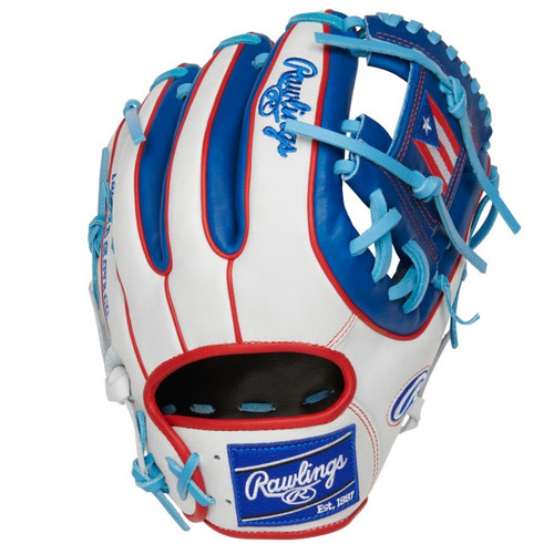 Rawlings Olympic Puerto Rico Heart of Hide 11.5 Baseball Glove Right Hand Throw