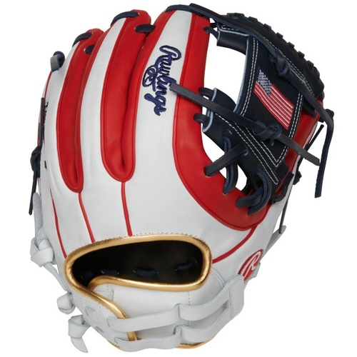 Rawlings Olympic USA Heart of Hide Softball Glove 12 Right Hand Throw