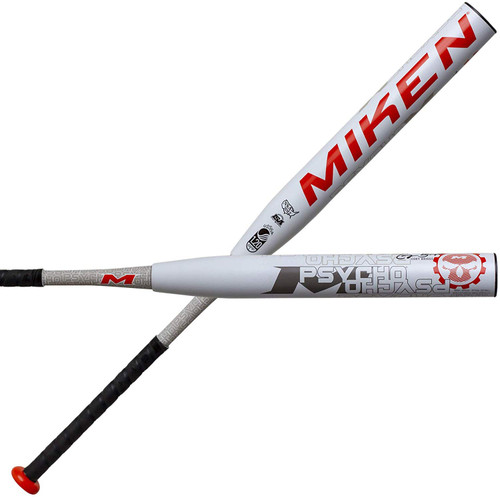 Miken 2020 Cory Briggs Psycho 14 Maxload USSSA Slowpitch Softball Bat 34 inch 25.5 oz