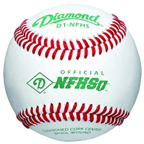 Diamond D1-NHFS Baseballs 1 Dozen