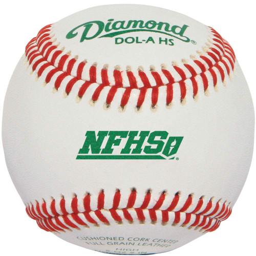 Diamond DOL-A NFHS NOCSAE Official League Baseball 1 Dozen