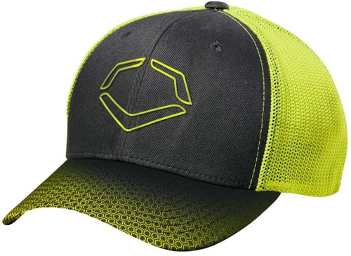 EvoShield Neon Onslaught Flex Fit Baseball Hat Small Medium