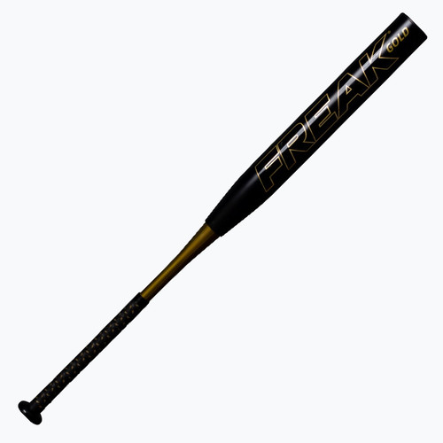 Miken Freak Gold Maxload USSSA Slowpitch Softball Bat 34 in 26 oz