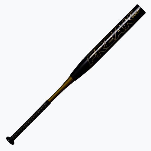 Miken Freak Gold Maxload USSSA Slowpitch Softball Bat 34 in 27 oz