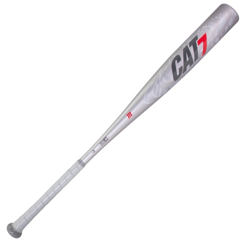 Marucci CAT7 Silver -3 BBCOR Baseball Bat 31 inch 28 oz