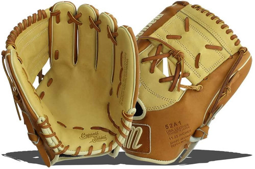 Marucci Cypress Series 52A1 11.25 Baseball Glove 1 Piece Solid Right Hand Throw