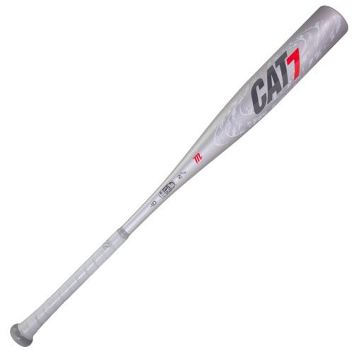 Marucci CAT 7 Silver -10 Baseball Bat 28 inch 18 oz