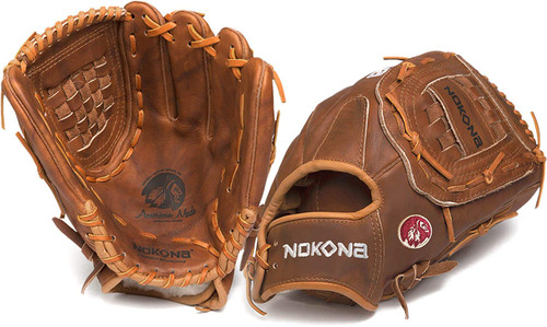Nokona Walnut Softball Glove 13 inch Right Hand Throw