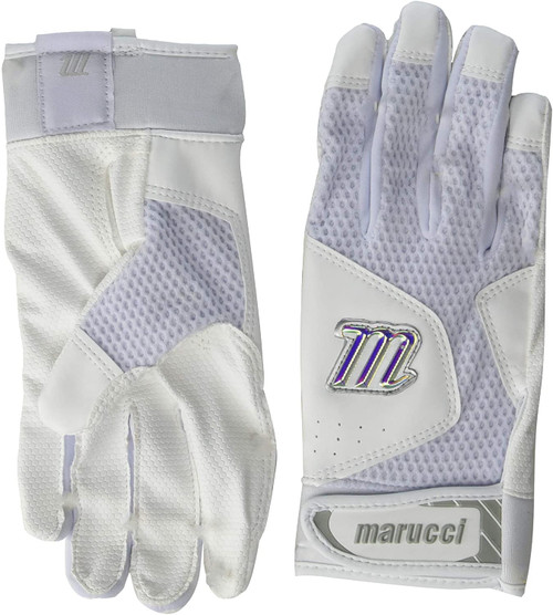 Marucci MBGQST2Y-WW-YM Youth Quest 2 Batting Gloves Youth Medium