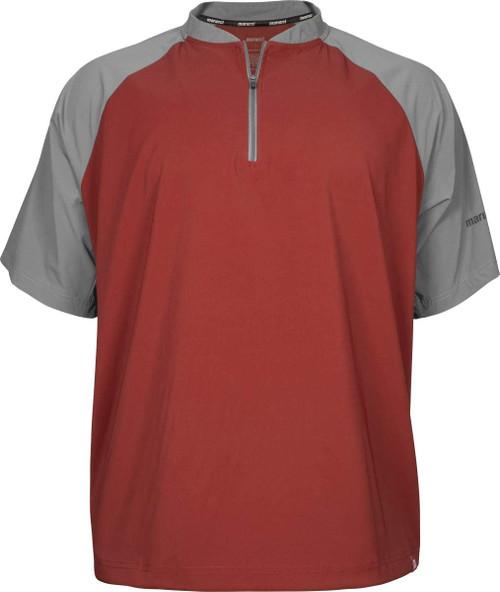 Marucci Team Cage Jacket - Red (MATCGJ-R-AS) Baseball Outerwear