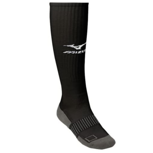 Mizuno Performance Plus Knee Hi Sock Medium Black