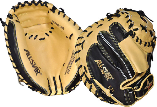 All-Star Pro Elite Series 33.5 Baseball Catchers Mitt Right Hand Throw