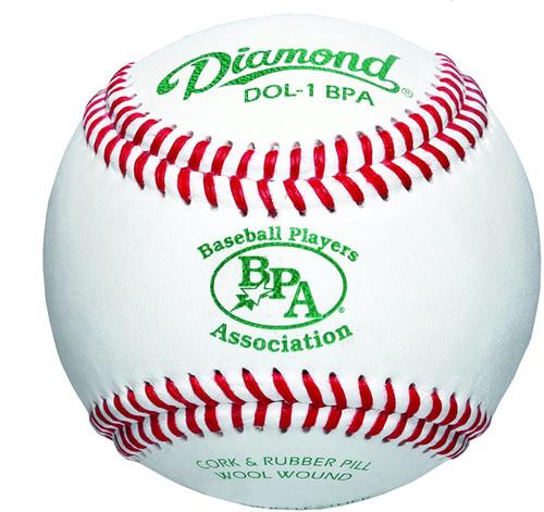 Diamond Baseball Players Association Select Wool Blend Winding Baseball 1 Dozen