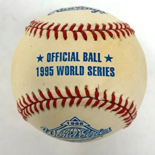 Rawlings Offical 1995 World Series Baseball 1 Each