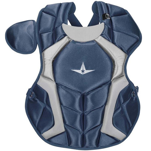 All-Star CPCC1216S7XNA 12-16 System Seven Pro Chest Protector Navy