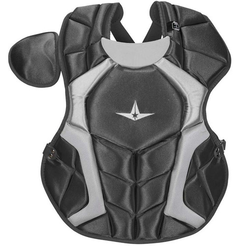 All-Star CPCC1618S7XBK Adult System Seven Pro Chest Protector Black
