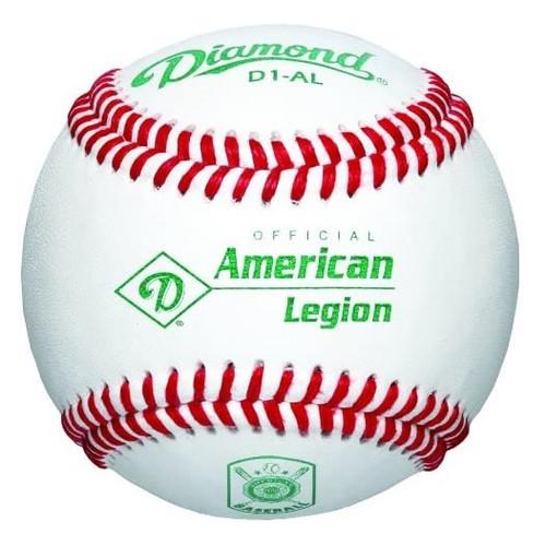 Diamond D1-AL American Legion Official Baseballs 1 Dozen