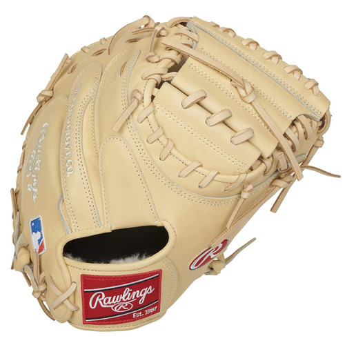 Rawlings Pro Preferred Catchers Mitt 1-Piece Solid Web 34 inch Right Hand Throw