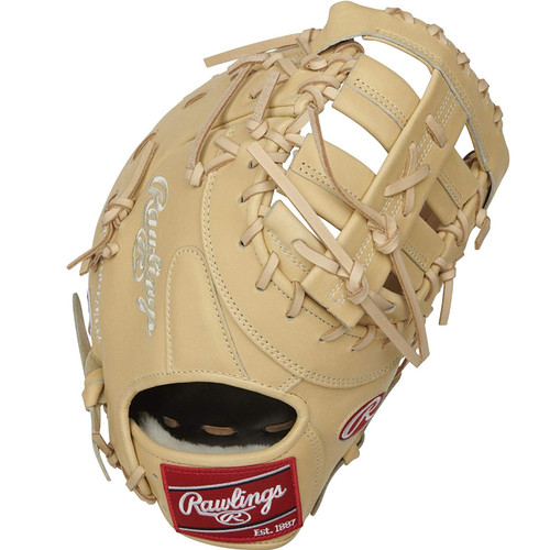 Rawlings Pro Preferred First Mitt Single Post Double Bar Web 13 inch Right Hand Throw