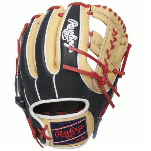 Rawlings Heart of The Hide Baseball Glove X-Laced Single Post Web 11.5 inch Right Hand Throw
