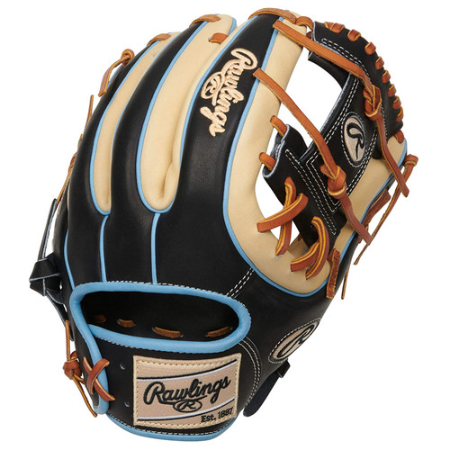 Rawlings Heart of The Hide Baseball Glove Pro I Web 11.75 inch Black Camel Tan Right Hand Throw