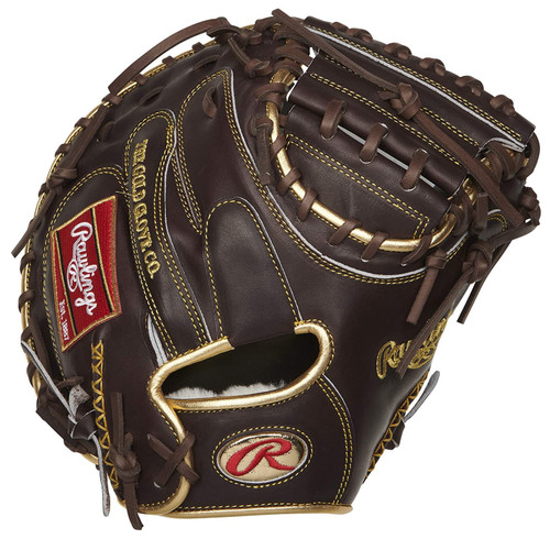 Rawlings Gold Glove Series Catchers Mitt 1-Piece Closed Web 34 inch Right Hand Throw