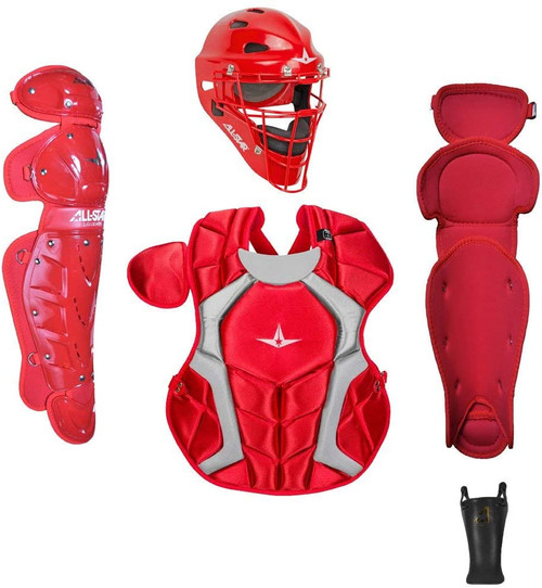 All-Star CKCC1216PS  Players Series Catchers Set Ages 12-16 Scarlet